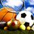 ゲーム · スポーツ用品 · 自然 · カラフル · スポーツ · サッカー - ストックフォト © janpietruszka