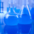 laboratório · artigos · de · vidro · tecnologia · vidro · azul · indústria - foto stock © JanPietruszka