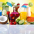 fruit cocktails on the beach stock photo © janpietruszka