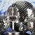 disco ball microphone and music background stock photo © janpietruszka