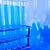 químico · laboratório · artigos · de · vidro · tecnologia · vidro · azul - foto stock © JanPietruszka