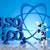 átomo · moléculas · modelo · laboratório · artigos · de · vidro · água - foto stock © janpietruszka