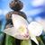 orkide · çiçek · zen · taşlar · grup · kaya - stok fotoğraf © JanPietruszka