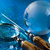 travelling magnifying glass and globe stock photo © janpietruszka