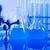 化学 · 室 · ガラス製品 · 技術 · ガラス · 青 - ストックフォト © JanPietruszka