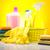 pulizia · lavoro · home · bottiglia · rosso - foto d'archivio © JanPietruszka