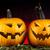 vicces · arc · sütőtök · halloween · szemek · háttér · űr - stock fotó © janpietruszka