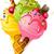 チョコレート · アイスクリーム · スティック · 実例 · 食欲をそそる · 漫画 - ストックフォト © jara3000