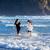 kettő · nővérek · játszik · tengerpart · nap · idő - stock fotó © jarenwicklund