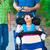 инвалидов · мало · мальчика · коляске · улице - Сток-фото © jarenwicklund