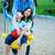 fratello · sorella · swing · parco · due - foto d'archivio © jarenwicklund