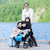 無効になって · 少年 · 車いす · 家族 · 湖 · 桟橋 - ストックフォト © jarenwicklund