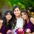 dwa · asian · młodych · siostry · odizolowany - zdjęcia stock © jarenwicklund