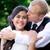 giovani · wedding · Coppia · bacio · esterna - foto d'archivio © jarenwicklund