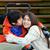 niepełnosprawnych · mały · chłopca · wózek · brat · siostry - zdjęcia stock © jarenwicklund