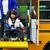 mozgássérült · kicsi · fiú · iskolabusz · tolószék · lift - stock fotó © jarenwicklund