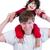 homem · filho · ombros · céu · família - foto stock © jarenwicklund