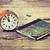 時間 · を読む · 美人 · ベッド · 読む · 図書 - ストックフォト © jarin13