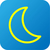 weather web icon with moon stock photo © jarin13