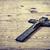 atravessar · antigo · madeira · metal · cristão · grão · de · madeira - foto stock © jarin13