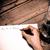 schrijven · oude · hout · business · kantoor - stockfoto © jarin13