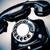 zwarte · telefoon · koord · geïsoleerd · witte · xxl - stockfoto © jarin13