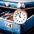 tiempo · viaje · reloj · palabras · blanco · comunicación - foto stock © jarin13