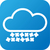 hava · durumu · web · simgesi · bulut · kar · mavi · beyaz - stok fotoğraf © jarin13