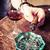 whisky · cygara · zielone · działalności · dymu · pić - zdjęcia stock © jarin13