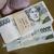 împacheta · bani · mare · bancnote · mână - imagine de stoc © jarin13