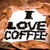 i love coffee stock photo © jarin13