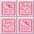 pink abstract tiles stock photo © jarin13