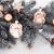 karácsony · angyalok · karácsonyfa · vágási · körvonal · ajándékok · ünnepek - stock fotó © jarin13