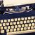 levél · klasszikus · írógép · billentyűzet · közelkép · egyéb - stock fotó © jarin13