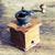 kahve · öğütücü · fincan · bağbozumu · kahve · çekirdekleri - stok fotoğraf © jarin13