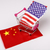 США · Китай · флаг · смешанный · оказывать - Сток-фото © jarin13