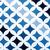 mavi · halı · bekçi · maske · sahne - stok fotoğraf © jarin13