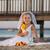 невеста · цветок · девушки · пляж · молодые · стоять - Сток-фото © jarp17