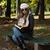 魅力のある女性 · 図書 · 秋 · 森林 · 肖像 · ゴージャス - ストックフォト © jasminko