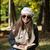 gyönyörű · fiatal · nő · olvas · könyv · park · portré - stock fotó © Jasminko