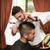 profesional · peluquero · corte · tijeras · salón · masculina - foto stock © jasminko