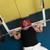 ベンチ · キーを押します · 重量 · 座って · リフト - ストックフォト © jasminko