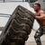 musculaire · homme · croix · s'adapter · entraînement · pneu - photo stock © Jasminko