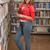 библиотека · довольно · женщины · студент · ноутбука · книгах - Сток-фото © jasminko