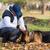 adam · köpek · çoban · orman · erkek · yaşam · tarzı - stok fotoğraf © jasminko