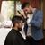 mannelijke · kapper · stilist · man · haardroger · lucht - stockfoto © jasminko