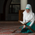 muslim woman reading the koran stock photo © jasminko