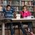 Öğrenciler · ödev · büro · lise · oturma - stok fotoğraf © jasminko