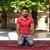 megvilágosodás · muszlim · férfi · imádkozik · mecset · kint - stock fotó © jasminko