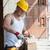 inşaat · adam · ahşap · çekiç · yakışıklı · tırnak - stok fotoğraf © Jasminko